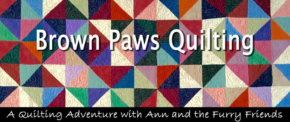 Brown Paws Quilting