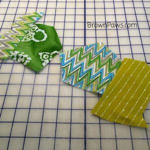 start of made fabric
