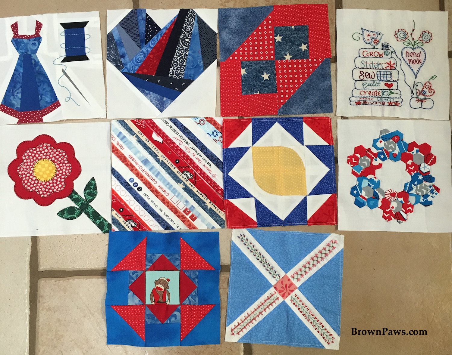 Splendid Sampler – June Progress