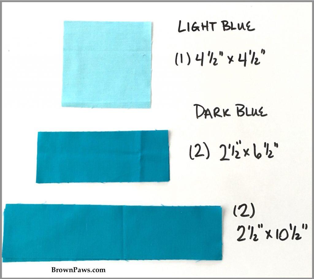 Blue cutting