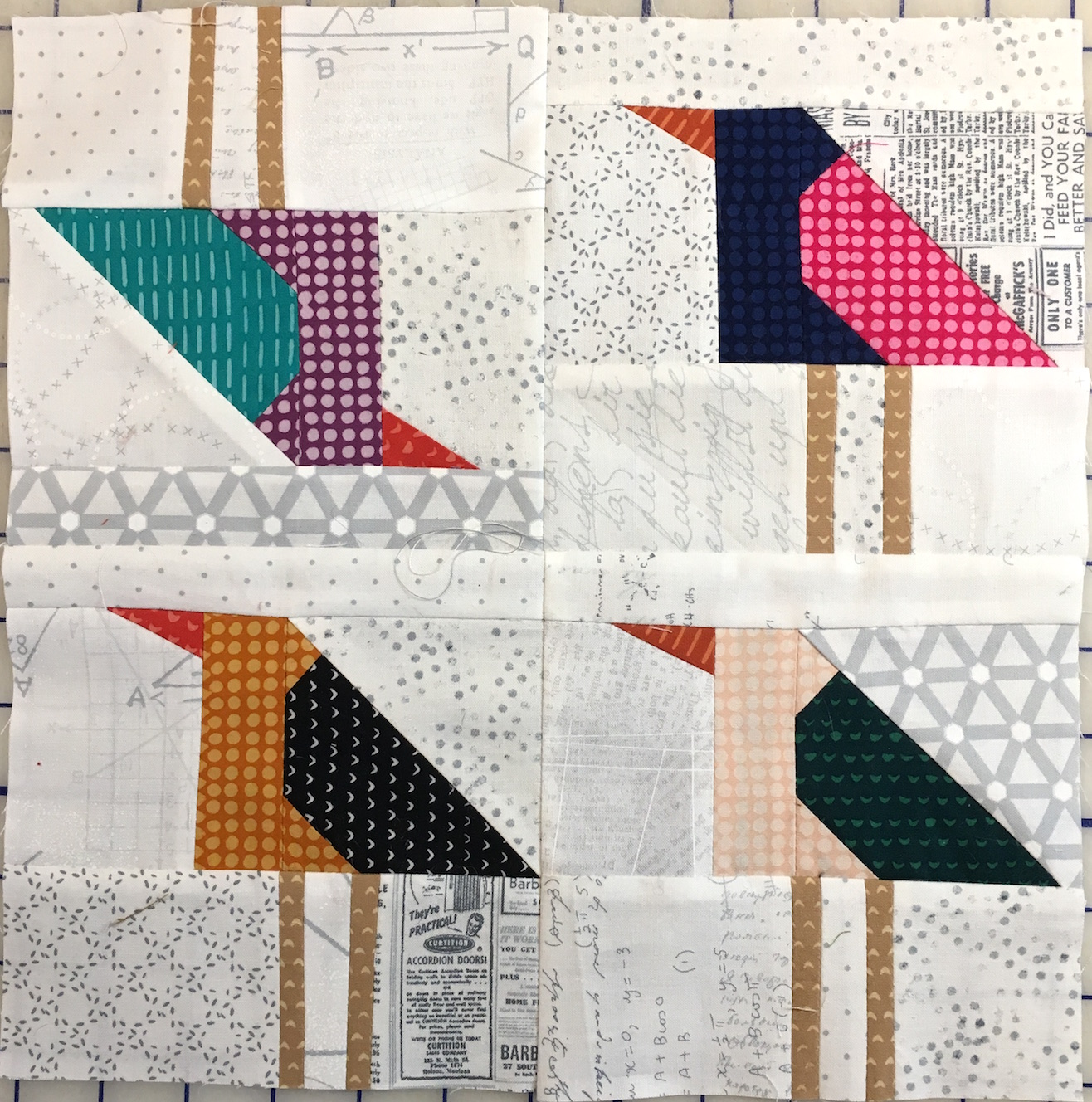 April and May Bee Blocks