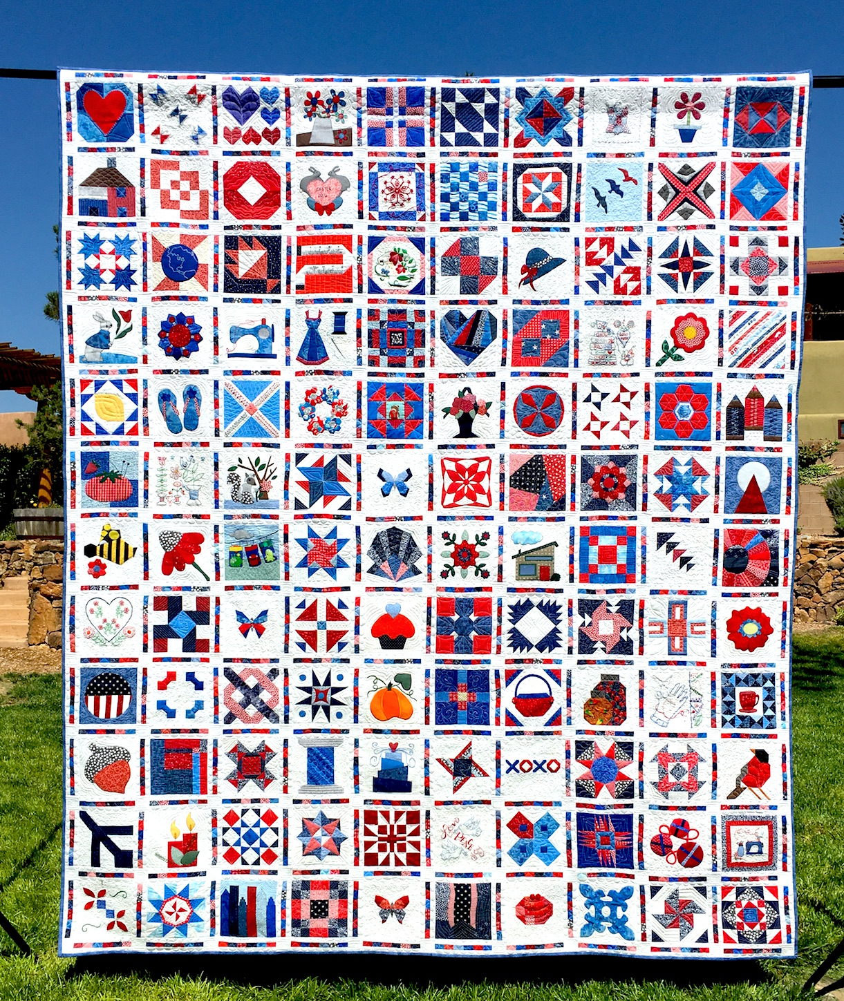 The Finished Splendid Sampler