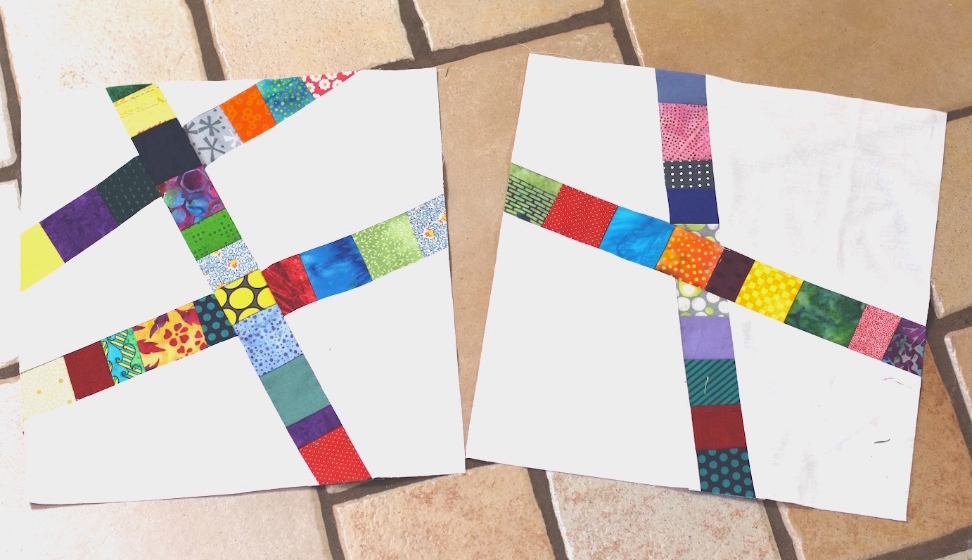 Scrappy Strips Block Tutorial