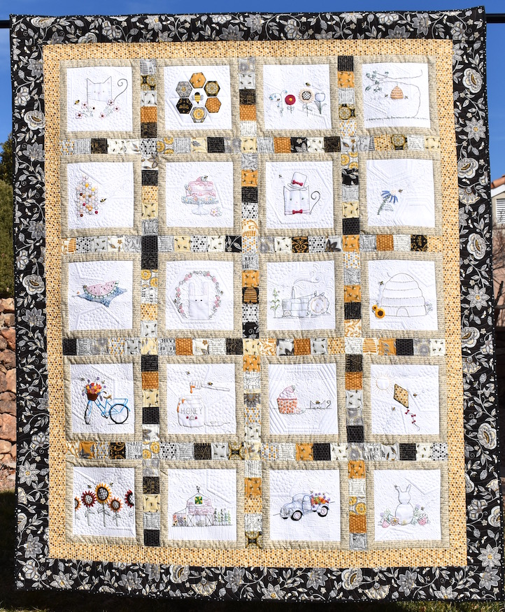The Bee Quilt