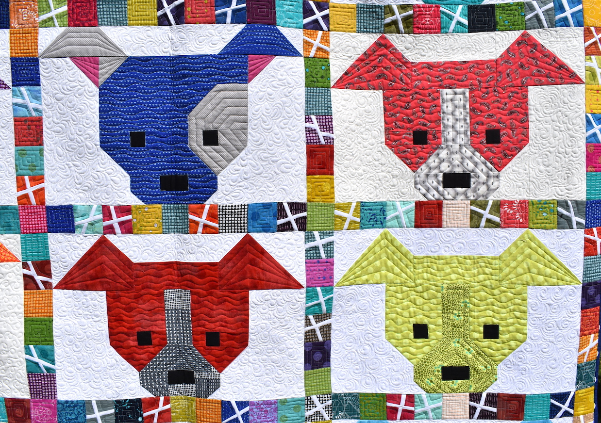 The Great Dog Quilt