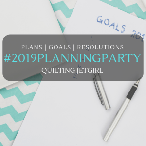 2019 Goal Setting – BrownPaws Quilting