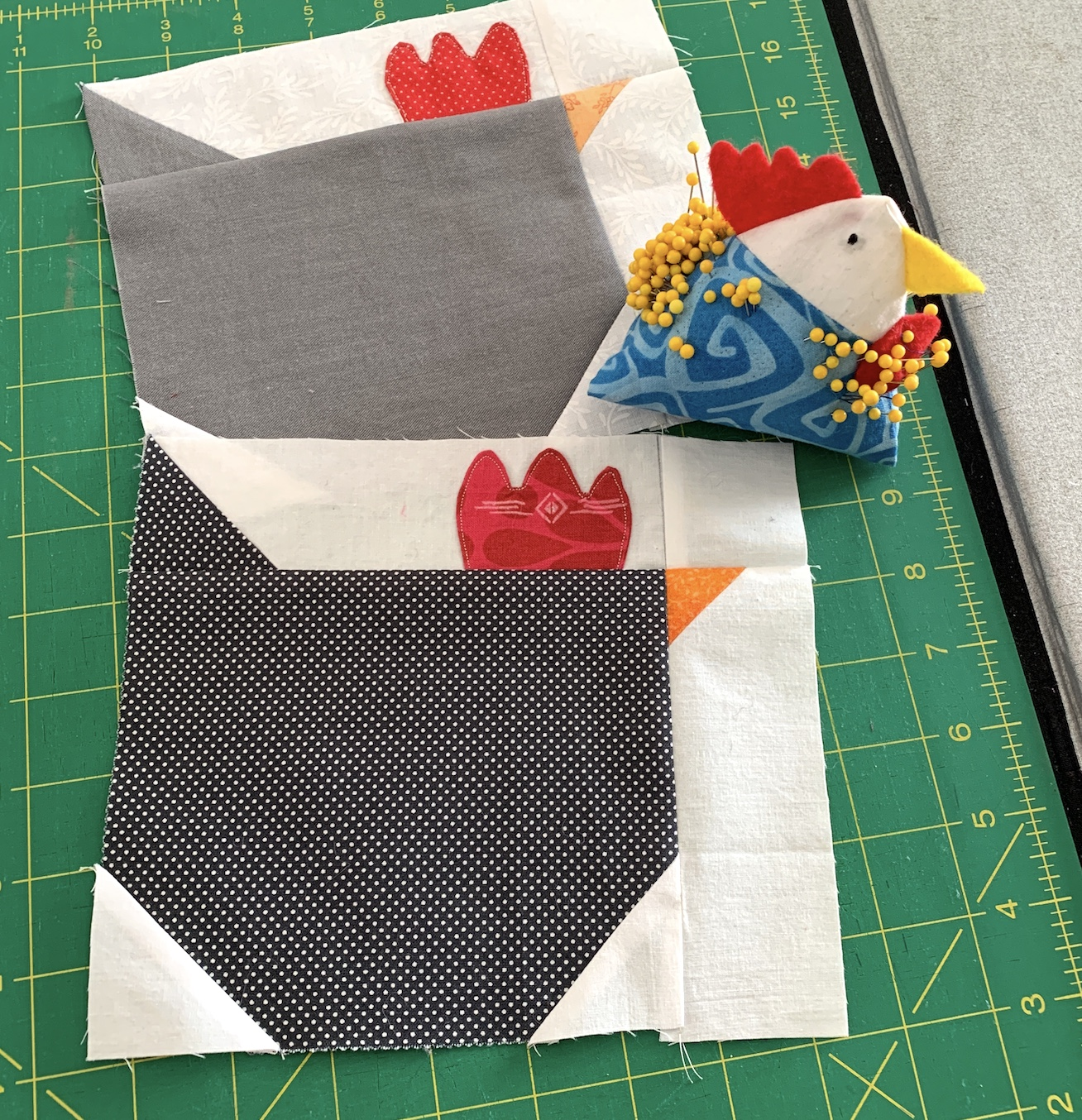 March Bee Chicken Blocks