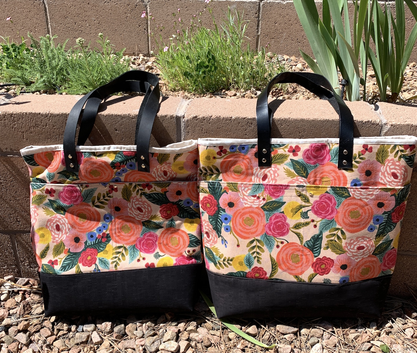 Tote Bag Experiments – Brown Paws Quilting