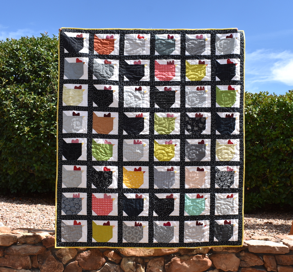 …and yet another Chicken Quilt