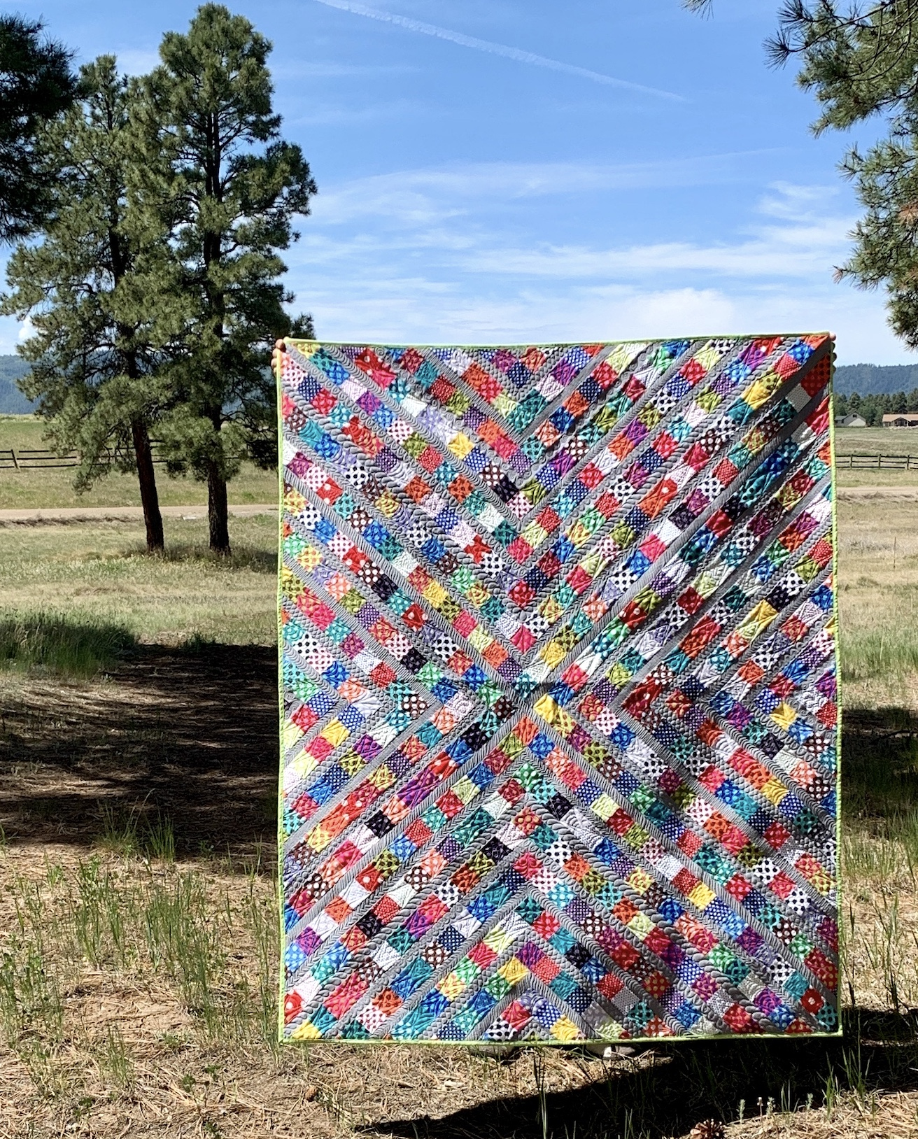 Dots Quilt Finish